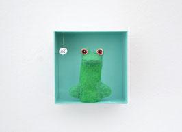 Fingerpuppe Frosch mit Box *hi!