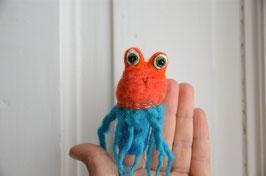 Fingerpuppe rotblauer Oktopus