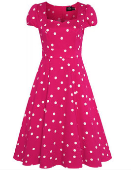 Dolly and Dotty Kleid Claudia pink-weiss