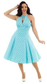 Hearts and Roses Kleid Dotty