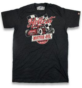 Hotrod Hellcat T-Shirt Motor Oil