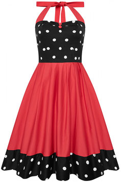 Dolly and Dotty Kleid Sophia rot-schwarz
