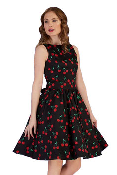Lady Vintage Kleid Tea Retro Cherry