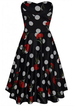 Dolly and Dotty Kleid Melissa Dots and Carnation