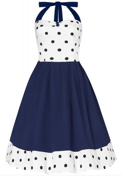 Dolly and Dotty Kleid Sophia weiss-blau