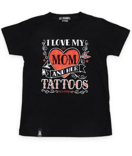 Six Bunnies Shirt I love my mom
