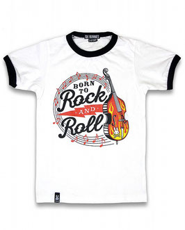Six Bunnies Shirt Born to Rock 'n Roll