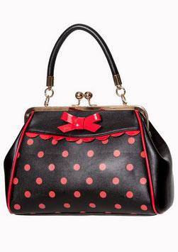 Banned Tasche Crazy Little Thing schwarz-rot