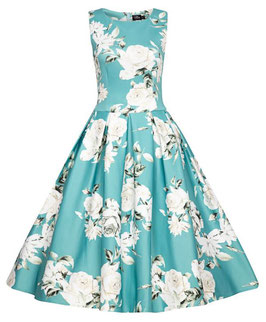 Dolly and Dotty Kleid Annie mint floral