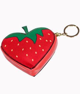 Banned Münzportemonnaie Erdbeere