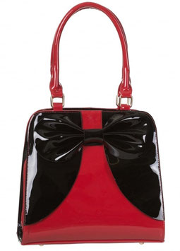 Banned Tasche Lila rot-schwarz