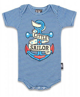 Six Bunnies Babybody Little Sailor