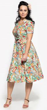 Queen Kerosin Kleid Vintage Summer
