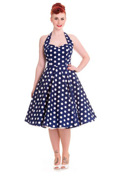 Hell Bunny Kleid Mariam navy