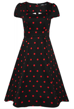 Dolly and Dotty Kleid Claudia schwarz-rot