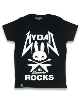 "Six Bunnies Shirt ""My dad rocks"""
