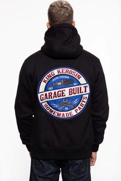 King Kerosin Sweatjacke Garage Built
