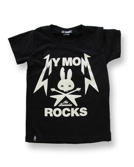 "Six Bunnies Shirt ""My mom rocks"""