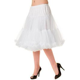 Banned Petticoat Starlite 60 cm weiss