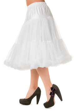 Banned Petticoat Lifeform 66 cm weiss