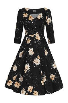 Hearts & Roses Kleid Midnight Stardust