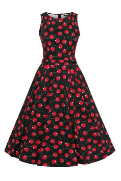 Lady Vintage Kleid Hepburn Retro Cherry