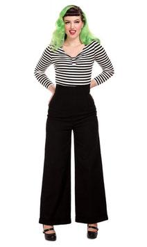 Collectif High Waist-Jeans Kiki schwarz