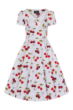 Hearts & Roses Kleid Cherry on top