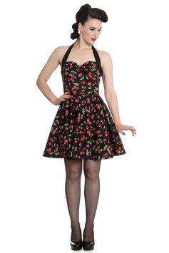 Hell Bunny Kleid Cherry Pop Mini