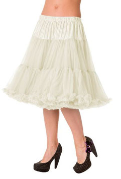 Banned Petticoat Starlite 60 cm elfenbein