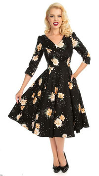 Hearts and Roses Kleid Midnight Stardust