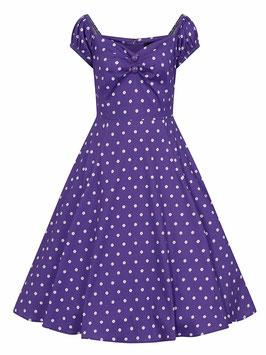 Collectif Kleid Dolores lila