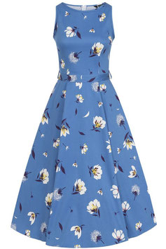 Lady Vintage Kleid Hepburn Cobalt from the blue