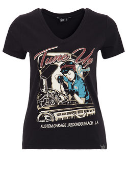 Queen Kerosin Shirt Tune Up schwarz