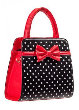Banned Tasche Carla rot-schwarz