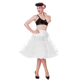 Plus size Hell Bunny Petticoat 60 cm weiss
