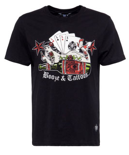 King Kerosin T-Shirt Booze and Tattoos