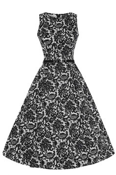 Lady Vintage KLeid Hepburn Glamorous Lace