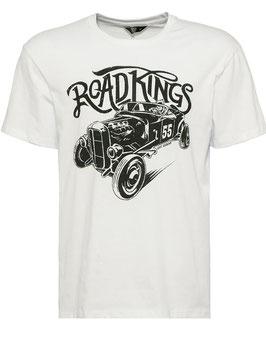 King Kerosin T-Shirt Road Kings weiss