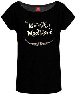 Alice im Wunderland Shirt We're all mad here