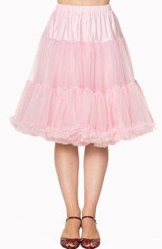 Banned Petticoat Starlite 60 cm hellrosa