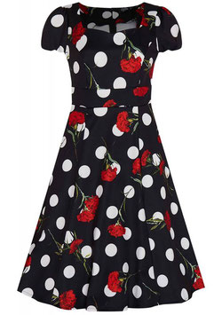 Dolly and Dotty Kleid Claudia Dots and Carnation