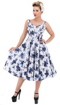 Hearts & Roses Kleid Rosalie white
