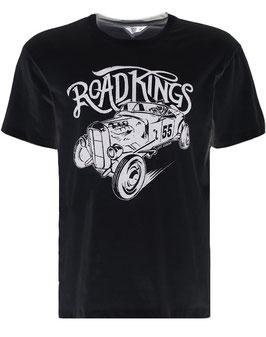 King Kerosin T-Shirt Road Kings schwarz