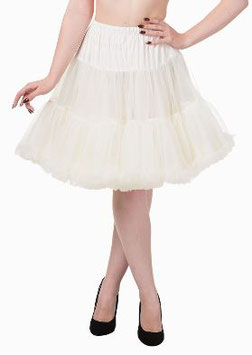Banned Petticoat Walkabout 50 cm elfenbein