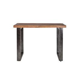 Countertafel 90 cm hoog zwart/wit