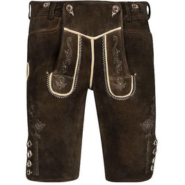 Original Trachtenhans - Austrian leather pants: Sämina goat leather Modell: Attersee in a vintage look made to measure