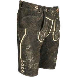 Original Trachtenhans - Austrian leather pants: Chamois deerskin pants Modell: Hamberg1 in a vintage look, made to measure