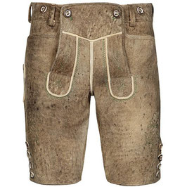 Original Trachtenhans - Austrian leather pants: Chamois deerskin pants Modell: Schafberg in a vintage look, made to measure