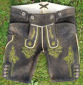 Original Trachtenhans - österreichise Lederhose: Sämische Hirschlederhose